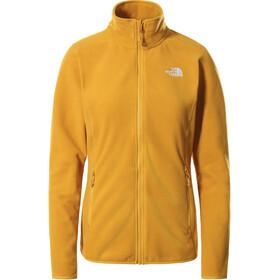 The North Face 100 Glacier Giacca Zip Intera Donna, giallo